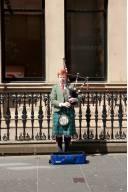 Glasgow Bagpiper